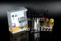 Hot.China Famous Brand.CHUYUIN 8PCS SHIBAZI KITCHEN KNIFE SET !!Recommend!!