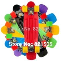 "Wholesale 10Pcs 22"" Penny Nickel Stereo Retro Cruiser Skate Board Longboard Skating cruiser"