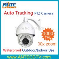 IR Intelligent Auto Tracking Video Analysis High Speed Dome PTZ Camera with China 30x 1000TVL Module