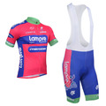 2013 lampre team cycling jersey/cycling wear/cycling clothing shorts bib suit-lampre-1A  Free shipping