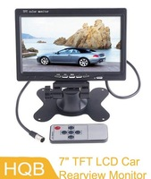 Professional 7 Color TFT LCD Car Rearview Monitor for DVD Camera VCR,free shipping dropshipping Wholesale