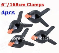 "4Pcs Professional Photography Studio Background stand holder Clips 6"" 168cm Big long Backdrop Clamps Pegs Photographic equipment"