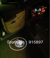 NO:6new Logo lights, car door welcome lamp, door greeter lamp, projection lamp, radium shoots the light, for light