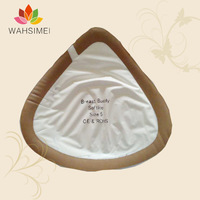 Free shipping!!315g/pc for B cup silicone artificial breast for crossdresser, lightweight silicon breast forms for mastectomy