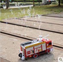 plastic fire truck models promotion