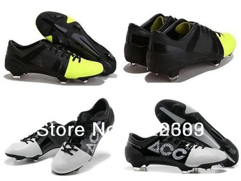 Free Shipping Newest But Lowest Price Men's Outdoor Team Sports Soccer Shoes Cleats White Black G-S2 ACC Cheap Limited Edition