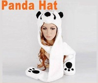 3pcs/lot Free Shipping Cartoon Animal Hat Winter Panda Hat Fashion Cap