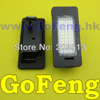2pcs/lot white Error Free Led License Plate Light For AUDI Q5 08~ A4 4D/5D(B8) 08 S5 08 A5 08~ TT 07~ VW Passat 5D R36 08~