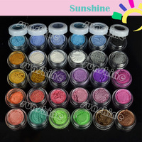 30 Colors Eye Shadow Powder Pigment Colorful Mineral Eyeshadow Makeup Free Shipping 2438