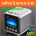 Line in computer speaker Micro SD TF USB Mini Speaker Music box Stereo MP3 Player FM Radio Free shipping #0252