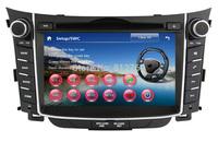 "7""Car DVD Player for Hyundai i30 2012 Auto Stereo GPS,Bluetooth,Ipod,TV, Radio,3G USB Host, Russian language, Free shipping"