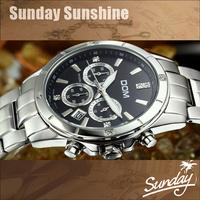DOM brand casual men full steel watch clock men sports high end watches luxury 200M waterproof dive fine luxury wrist watches