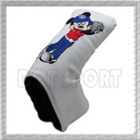New 2013 Mickey Mouse White putter cover golf headcovers DCT SPORT