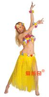Halloween party dress Hawaiian hula 80 cm adult Hawaii a grass skirt