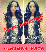 Fashion Unprocessed Brazilian virgin human hair Silk Top Front Lace Wig & Full lace Wig Glueless Natural skin for black women