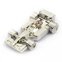 Free shipping 2G/4G/8G/16G/32G racing car  shape usb flash drive  creative boy's gift