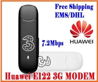 Free shipping UNLOCKED HUAWEI E122 Mobile Broadband Hsdpa usb 3G wireless WCDMA Modem
