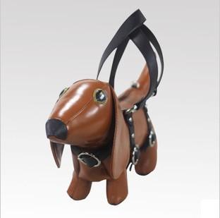 Dog Shaped Bag/ Amliya Brand Dachshund Handbag/ Ladies Tote Bag/ Fashion Shoulder Bag