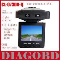 "Car DVR CL-073DV-Q  2.5"" Panel / Microphone    Car dvr Portable CMOS WXGA HD Sensor on promotion"