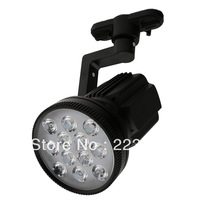 85-265V High Power 12W LED Track Lights Led Track Lamps With Black Holder Body