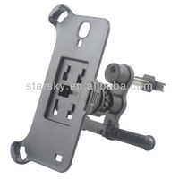 360 degree rotating extendable arm universal car mount holder for mobile phone and GPS