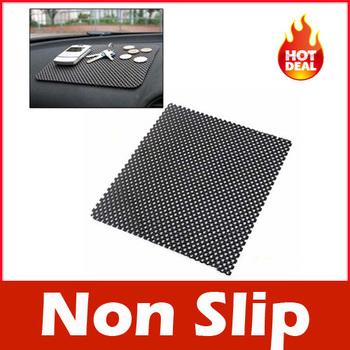Car Non Slip Dash Mat Dashboard Phone Pad Holder Black