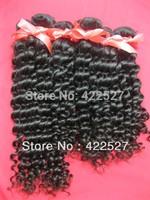 7A grade quality 4pcs/lot  virgin Brazilian hair human remy hair extensions high quality deep curly wave