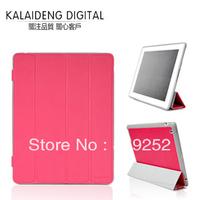 Original KALAIDENG Smart Case Sleep Wake up ,Cover Protector for ipad2/3/4 6Colour+Retail Box Hot Sales