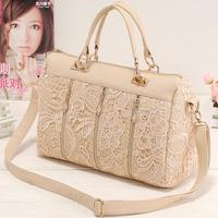 2013 spring female bags fashion vintage lace bag shoulder bag handbag bag messenger bag