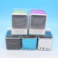 Mini Speaker Music Angel Speaker MD07 with FM Multimedia Portable Speaker TF Card Speaker 200pcs/lot Free DHL Shipping