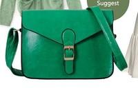 2013 Candy color small bag vintage bags 2013 brand designer bag, women's fashion handbag envelope messenger bag messenger bag