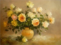 The Best Pictures Painting By Numbers Digital Oil Painting On Canvas Unique Gifts Home Decoration 40x50cm Fragrant Flowers D171
