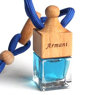 Wholesale natural flower perfume car perfume pendant