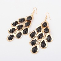 Min.order $10(mix) fashion enamel water drop earrings 2013 jewellery wholesale drop earring for women jewelry