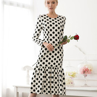 Top Grade 2013 To 2014 Runway Fashion O-Neck Sleeveless Sexy Day Life Brand Blue Print Dresses Women With XL Bust 96CM