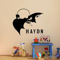 Batman is for a Name  - Wall Vinyl Art Decor  Children's Room  Vinyl Sticker  60*70CM  Free shipping