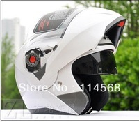 JIEKAI quality goods electric motorcycle helmet qiu dong QuanKui upscale double lens strip surface helmet