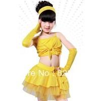 Free shopping child costume performance wear ballet skirt tulle dress female child leotard 055 paillette