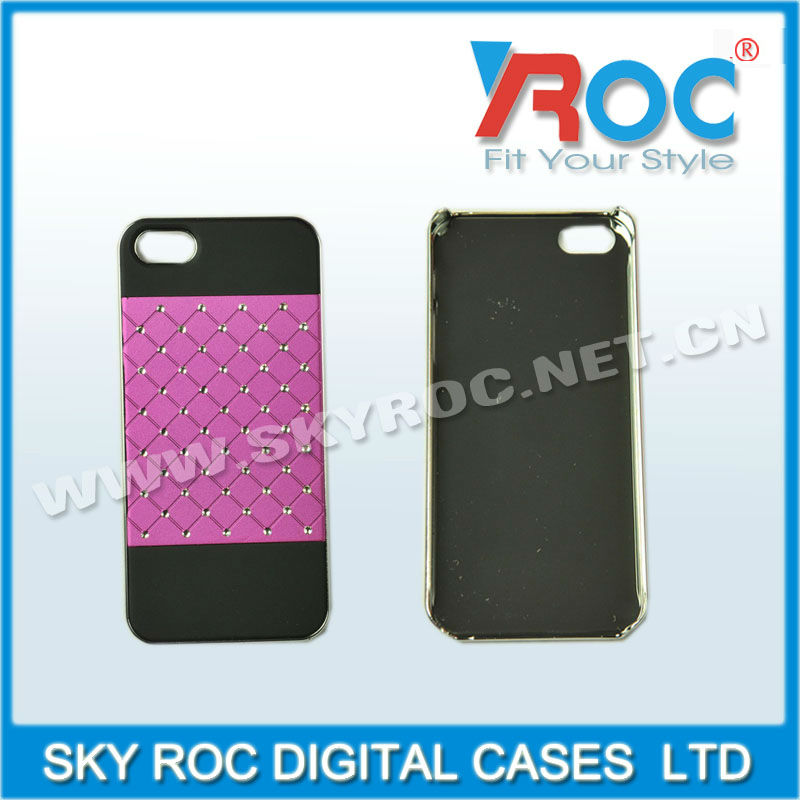 Free shipping Shinning Bling Starry Sky Rhinestone Case Cover for iPhone 5 5G(China (Mainland))