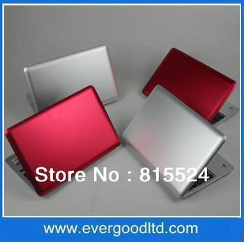 Free Shipping 11 inch Mini-laptop Windows 7/Windows XP Intel N455 1.66GHz 16:9 TFT LCD Screen 1GB/160GB