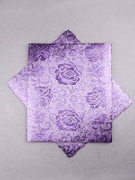 African Fabric Sego Headtie 2 Yards Lilac hss051_3