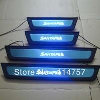 new 2013 hyundai santafe led door sill plate 4pcs