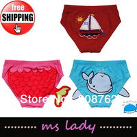 Free Shipping boy Cartoon Animal Swim shorts Trunks Bathing Kids Swimming Trunk Brief Baby Swimwear Swimsuit HK Airmail