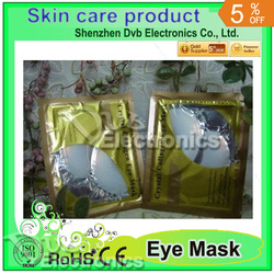 gel mask Crystal Collagen Eye Pad Eye Mask + Hyaluronic Acid(China (Mainland))