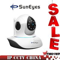 SunEyes 720P 1.0MP Megapixel HD IP Camera Wireless Wifi Network CCTV Camera Pan/Tilt IR Cut support P2P Plug and Play SP-TM01WP