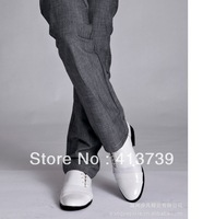2013 X The new  Men's business  Casual shoes  Han edition of England 2502 Casual shoes  Genuine leather  Leather shoes