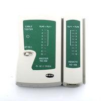 free shipping Network Cable Tester For RJ11 RJ12 RJ45 Cat5 CAT5E #1006