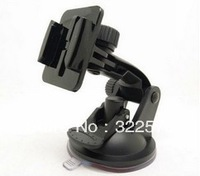 Free shipping! Sports Action Camera Mount Car Window Mount Car Adapter Holder Accessories For Gopro Hero2, Hero3 for Hero3+