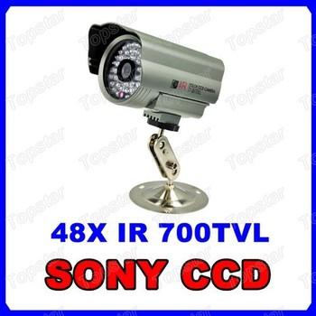 High End 700TVL Super HAD CCD Effio CCTV Security Camera 100ft 48 IR LED Weatherproof Bullet Camera