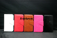 Free Shipping 1 pcs Stylish Flip PU Leather Stand Cover Case for Samsung Galaxy S4 I9500